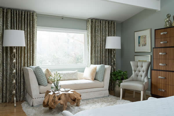 Warm, Welcoming Bedroom designed by Jeff Mifsud, Interior Classics, Interior Design Atlanta