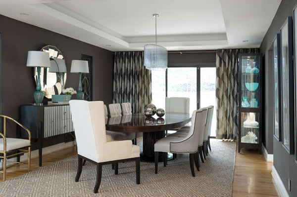 Beau Chic Dining Room Designed By Jeff Mifsud, Interior Classics, Interior  Design Atlanta ...