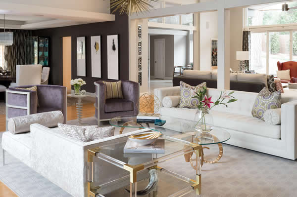 Beautiful Beautiful, Modern Living Room Designed By Jeff Mifsud, Interior Classics, Interior  Design Atlanta